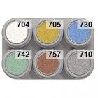 Grimas Water Make-up Pearl 6er Palette - 6 x 2,5ml