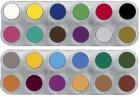 Grimas Water Make-up Palette A + B - 24 x 2,5 ml