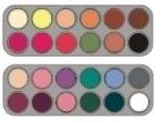 Grimas Eyeshadow - Rouge  Palette 24  FK(FK1+FK2) - 24 x 2g